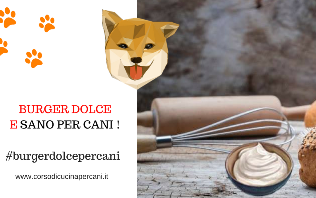 Burger dolce per cani